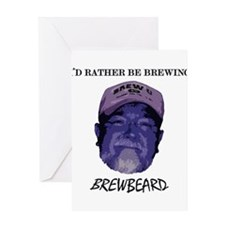Brewbeard Greeting Card