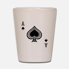 Ace of Spades Shot Glass