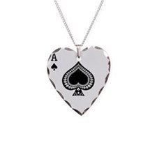 Ace of Spades Necklace