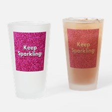 Keep Sparkling Drinking Glass