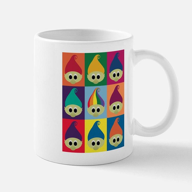 Troll Block 3x3 Rainbow Mug