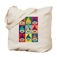 Troll Block 3x3 Rainbow Tote Bag