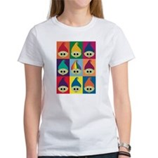 Troll Block 3x3 Rainbow Tee