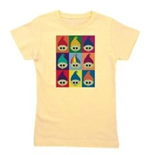 Troll Block 3x3 Rainbow Girl's Tee