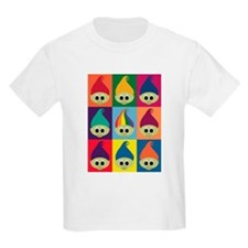Troll Block 3x3 Rainbow T-Shirt