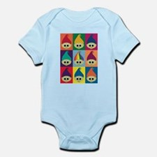 Troll Block 3x3 Rainbow Infant Bodysuit