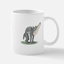 Funny Grey Wolf Mug