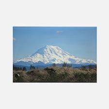 Mount Rainier Rectangle Magnet