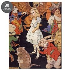 Alice in Wonderland 1923 illustration Puzzle
