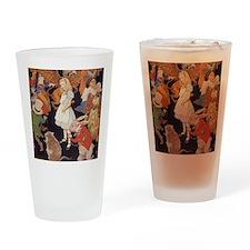 Alice in Wonderland 1923 illustrati Drinking Glass