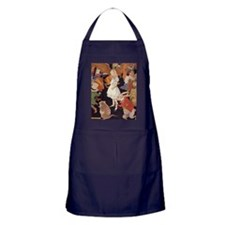 Alice in Wonderland 1923 illustration Apron (dark)