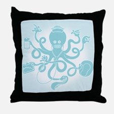 Octonurse Throw Pillow