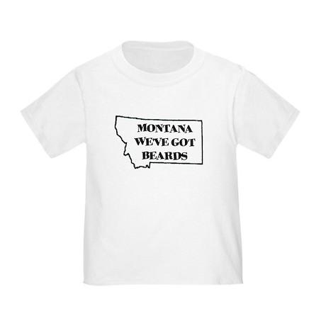Montana Beards Toddler T-Shirt