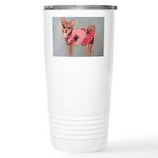 polka dot chihuahua Travel Mug