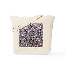Faux silver glitter Tote Bag