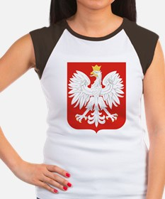 Polish Eagle Women's Cap Sleeve T-Shirt