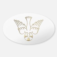 Golden Descent of The Holy Spirit Symbol Decal