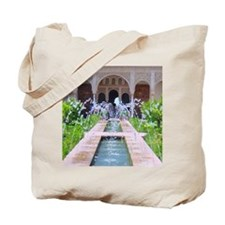 Alhambra water fountain Tote Bag