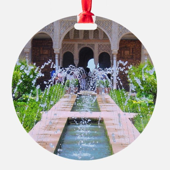 Alhambra water fountain Ornament