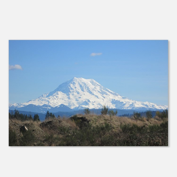 Cute Mount rainier Postcards (Package of 8)