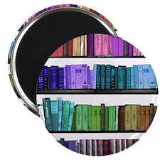 Rainbow bookshelf Magnet