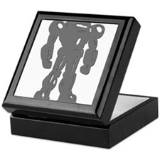Grey Robot Keepsake Box