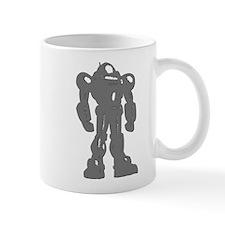 Grey Robot Mug