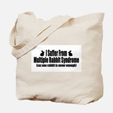 Multiple Rabbit Syndrome Tote Bag
