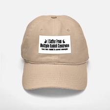 Multiple Rabbit Syndrome Baseball Baseball Cap
