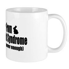 Multiple Rabbit Syndrome Small Mugs