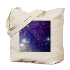 Space sky with bright stars Tote Bag