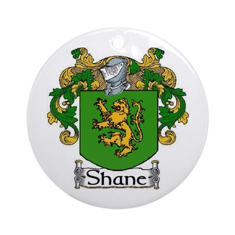 Shane Coat of Arms Ornament (Round)