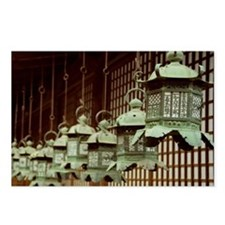 Japanese Lanterns Postcards (Package of 8)