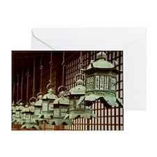 Japanese Lanterns Greeting Card