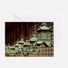 Japanese Lanterns Greeting Card