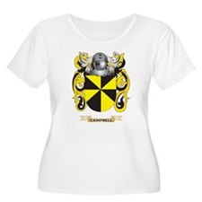 Campbell Coat of Arms Plus Size T-Shirt