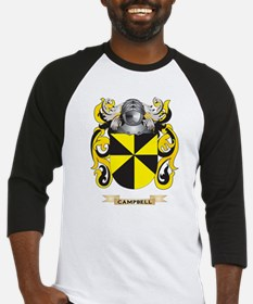 Campbell Coat of Arms Baseball Jersey
