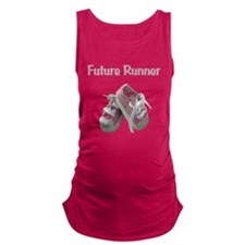 Funny Iron Maternity Tank Top