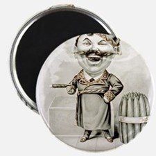 The jolly smoker - 1880 Magnet