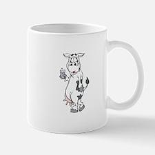 Silly Cow Drinking Milk Mug