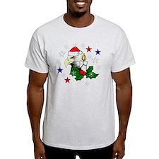 Merry Christmas Eagle T-Shirt