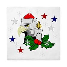 Merry Christmas Eagle Queen Duvet