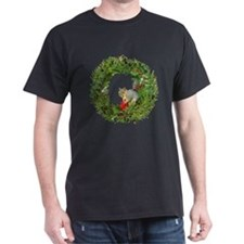 Squirrel Wreath Candle T-Shirt
