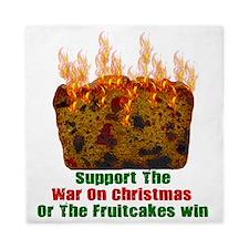 War On Christmas Fruitcake Queen Duvet