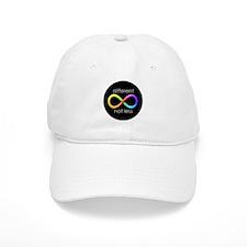 Different, Not Less (white type) Baseball Cap