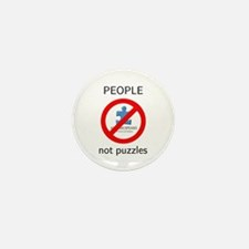 PEOPLE not puzzles Mini Button (10 pack)