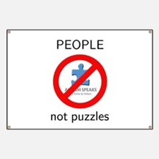 PEOPLE not puzzles Banner