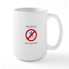 PEOPLE not puzzles Mug