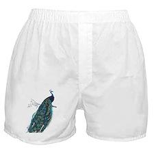 Vintage peacock Boxer Shorts