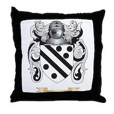 Candlemaker Coat of Arms Throw Pillow